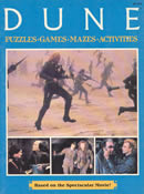 Dune Puzzles, Games Mazes and Activities
