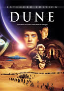 Dune DVDs (Dune: Extended Edition shown)